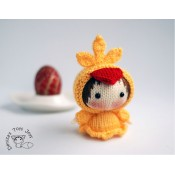 Маленькая куколка Цыпленок из серии Tanoshi